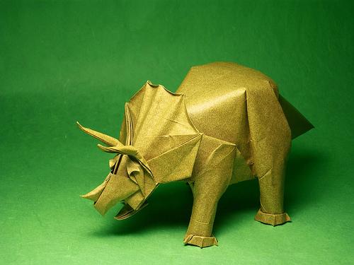 Примеры - трицератопсы: модель